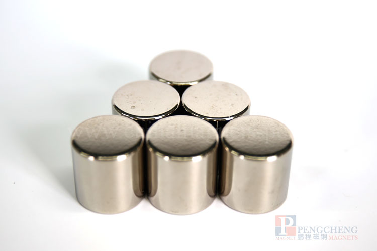 30EH Nickel Coated Neodymium magneet Disc, PC-0162
