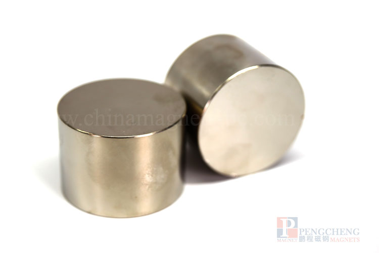 35H Nickel Coated Neodymium magneet Disc, PC-0159