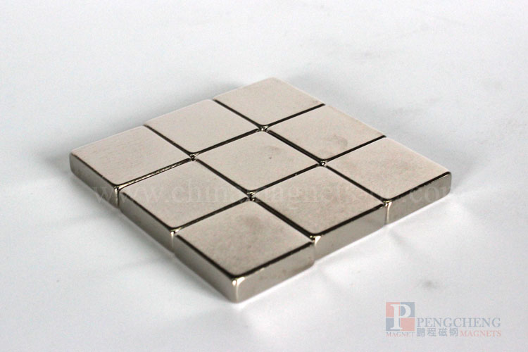 N35 Nickel Coated Neodymium blokmagneet, PC-0106