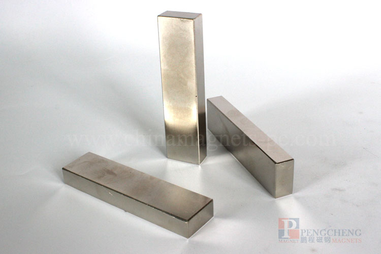 N48 Nickel Coated Neodymium blokmagneet, PC-0123