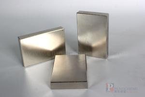 30EH Nickel Coated Neodymium Block Magnet