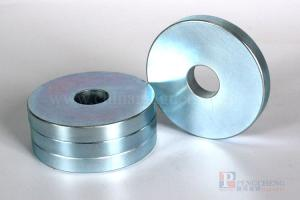 35M Zinc Coated Neodymium Ring Magnet