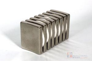 35SH Nickel Coated Neodymium Arc Magnet