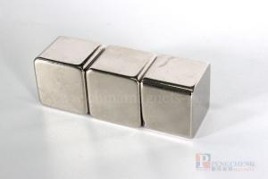 35SH Nickel Coated Neodymium Block Magnet