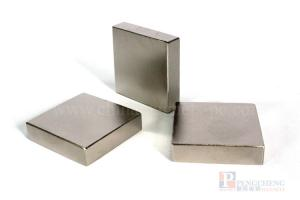 38UH Nickel Coated Neodymium Block Magnet