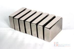42H Nickel Coated Neodymium Block Magnet