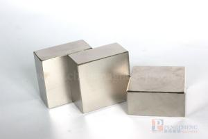 N30 Nickel Coated Neodymium Block Magnet