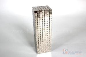 N33 Nickel Coated Neodymium Block Magnet