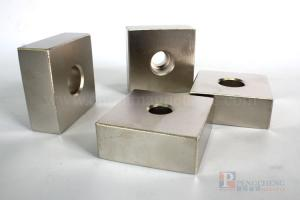 N33 Nickel Coated Neodymium Countersunk Magnet