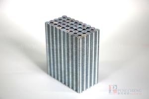 N33 Zinc Coated Neodymium Disc Magnet