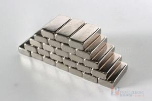 N35 Nickel Coated Neodymium Block Magnet