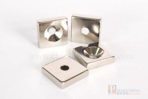 N35 Nickel Coated Neodymium Verzonken Magneet