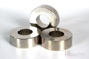 N35 Nickel Coated Magnet Neodymium Ring