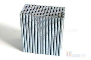 N35 Zinc Coated Neodymium Disc Magnet