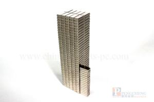 N38 Nickel Coated Neodymium Block Magnet