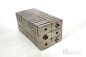 N38 Nickel Coated Neodymium Countersunk Magnet