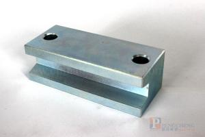 N38 Zinc Coated Neodymium Special Shape of Magnet