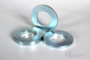 N42 Zinc Coated Neodymium Ring Magnet