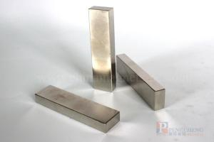 N48 Nickel Coated Neodymium Block Magnet