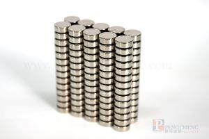 N52 Nickel Coated Neodymium Disc Magnet